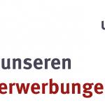 """Schriftzug """"Aus unseren Neuerwerbungen"""" mit ULB-Logo"""