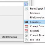 Screenshot FastRenamer Counter 1